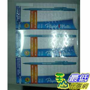 [玉山最低比價網] COSCO 堪稱全世界最好寫的原子筆 PaperMate 108支裝 C-474869 (只剩藍色)