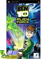 索尼推薦到[美國直購 ShopUSA] 本10異己力量 SONY PSP Ben 10 Alien Force $1135