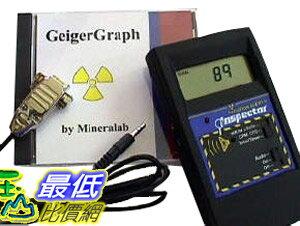 [美國直購] 放射性核輻射偵測器 軟體 GeigerGraph Software $3998