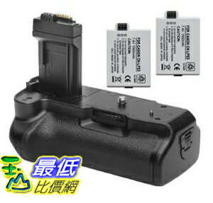 [美國直購 ShopUSA] 電池手柄 Opteka Battery Pack Grip / Vertical Shutter Release for Canon EOS Digital Rebel XS, XSi and T1i with 2 LP-E5 Batteries (3600 mAh Total) $2297