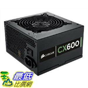 [美國直購 ShopUSA] Corsair Builder Series CX600 600 watt 80 Plus Certified 電源供應器 Power Supply Compatible..