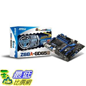 [美國直購 ShopUSA] MSI 主機板 LGA1155 Intel Z68 G3 DDR3 CrossFireX & SLI SATA3 & USB3.0 ATX Motherboard - Z..