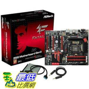 [美國直購 ShopUSA] ASRock 主機板 FATAL1TY Z68 PROFESSIONAL GEN3 Intel Z68 ATX DDR3 1066 LGA 1155 Motherboard by ASRock $10900