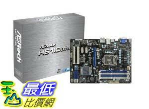 [美國直購 ShopUSA] ASRock 主機板 Socket 1155/ Intel H61/ SATA3&USB 3.0/ A&V&GbE/ ATX Motherboard, H61ICAFE by ASRock $3656