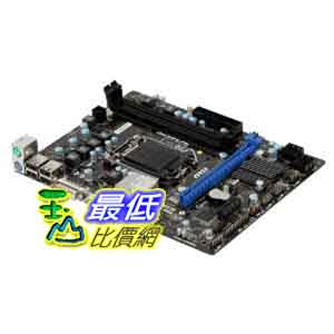 [美國直購 ShopUSA] MSI 台式機主板 LGA1155/Intel H61 (B3)/DDR3/A and GbE/MicroATX Motherboard $2140