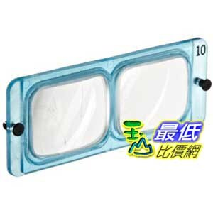 [美國直購 ShopUSA] Donegan LP 10 Replacement Lens for Opti-Visor, 3.5X Magnification, 10 Diopers, 4 Foca..