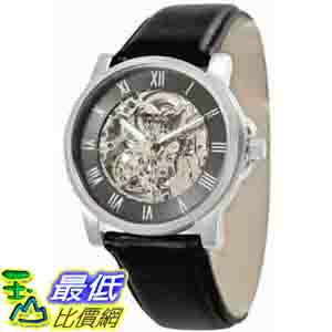 [美國直購 ShopUSA] Kenneth Cole 手錶 New York Men's KC1514 Automatic Gunmetal Dial Leather Strap Watch $3500