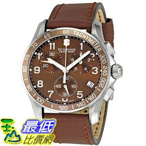 [美國直購 ShopUSA] Victorinox Swiss Army Men's 241151 Chrono Classic Brown Dial Watch 手錶 $12267