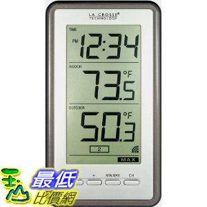 [美國代購 USAShop] La Crosse 溫度計 Technology WS-9160U-IT Digital Thermometer with Indoor/Outdoor Temperature $1099