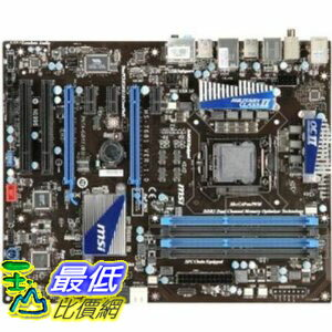[美國直購 ShopUSA] MSI 主機板 P67A-GD55 (B3) LGA1155 Intel P67 B3 DDR3 SATA3 and USB 3.0 A&GbE ATX Motherbo..