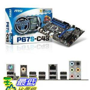 [美國直購 ShopUSA] MSI 主機板 Intel P67 (B3) ATX DDR3 1066 Intel - LGA 1155 Motherboards P67S-C43 (B3) $417..