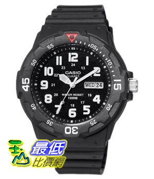 [美國直購 ShopUSA] Casio 手錶 Men's MRW200H-1BV Sport Analog Dive Watch