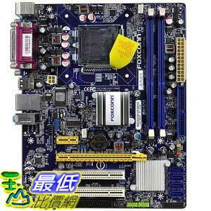 [美國直購 ShopUSA]  Foxconn 主機板 Core 2 Quad/Intel G41/DDR3/A&V&GbE/Micro ATX Motherboard s G41MX-E  $2492