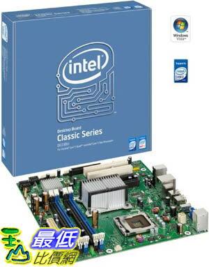 [美國直購 ShopUSA] Intel 台式機主板 BOXDG33BUC Classic Series G33 uATX DDR2 800 Intel Graphics PCI-Express X16 1333MHz FSB LGA775 Desktop Board - Retail $2791