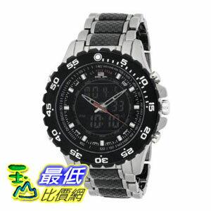 [美國直購 ShopUSA] U.S. Polo Assn. 手錶 Men's US8170 Analog-Digital Black Dial Gun Metal Bracelet Watch $1180