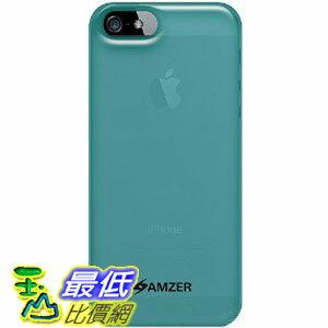 [美國直購 USAshop] Amzer 保護殼 Soft Gel TPU Gloss Skin Fit Case Cover for Apple iPhone 5 (Fits All Carriers) - 1 Pack - Skin - Retail Packaging - Translucent Blue