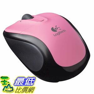 [美國直購 ShopUSA]羅技 Logitech V220 Cordless Optical Mouse for Notebooks (Rose Pink) $780