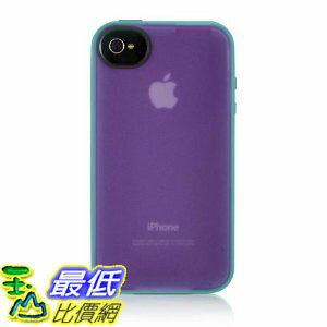 [美國直購 USAshop] Belkin 保護套 Essential 050 iPhone 4 Case, Compatible with iPhone 4S (Purple / Blue)