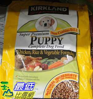 %[玉山百貨網] COSCO KIRKLAND SIGNATURE 綜合乾狗糧幼犬健康配方 9.07公斤 C132003