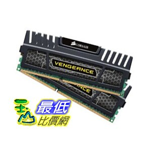 [美國直購 ShopUSA] Corsair 內存 Vengeance 8 GB ( 2 x 4 GB ) DDR3 1600 MHz (PC3 12800) 240-Pin DDR3 Memory ..