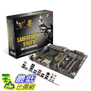 [美國直購 ShopUSA] ASUS 主機板 Sabertooth 990FX - AM3+ - TUF Series - ATX AMD 990FX DDR3 1800 Motherboards $8497