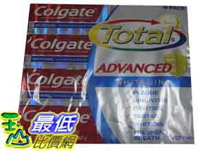 [玉山最低比價網] COSCO Colgate 高露潔深層淨化全效牙膏226g*4條 C99969