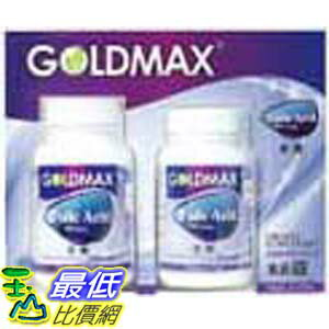 [玉山最低網] GOLDMAX FQLIC ACID  葉酸 800MCG 240+60 粒 C90002 $1126