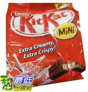 [104限時限量促銷] COST NESTLE KIT KAT MINI CHOCO雀巢奇巧迷你巧克力家庭號16.7公克×60入(1002G)C89591 $453