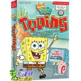 [美國兒童教育軟體] 美國兒童打字軟體 SpongeBob Squarepants Typing 2008 5 $845
