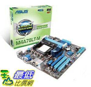 [美國直購 ShopUSA] 主機板 ASUS Socket AM3/AMD 760G/A&V&GbE/Micro ATX Motherboard s M4A78LT-M $2819