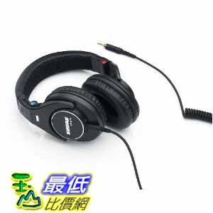 [美國直購 ShopUSA] Shure 黑色監聽耳機 SRH840 Professional Monitoring Earphones (Black) $6992