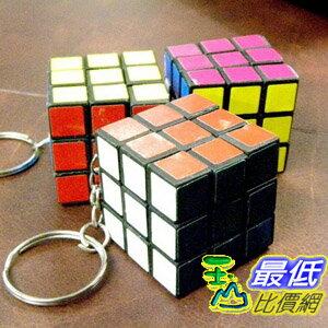 [美國代購 shopUSA] A0346 魔方鑰匙扣 Rubic Rubicks Rubik 3x3x3 Key Chain Cube Puzzly Game Toy IQ Test Rubix New_TF12 $99