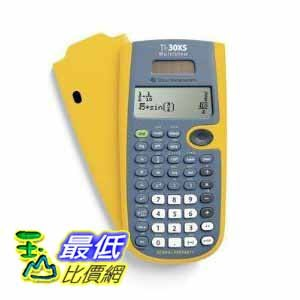 [美國直購 ShopUSA] TI-30XS 計算器 Multiview Tk-yellow $6086