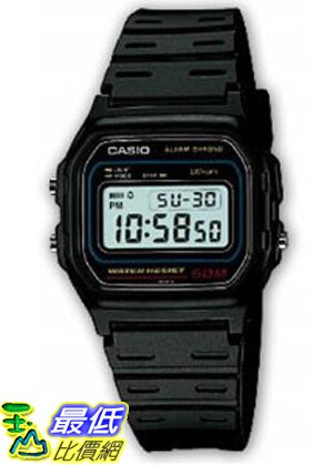 美 直 ShopUSA  Casio 手錶 Men #x27 s W59~1V Clas