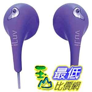 [美國直購 ShopUSA] iLuv 紫色耳機 IEP205PUR Bubble Gum II Earphones - Purple by iLuv $556