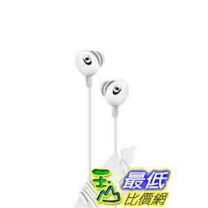 [美國直購 ShopUSA] iLuv 白色立體聲耳機 iEP311WHT The Bean In-Ear Stereo Earphone with Volume Control - White $6..