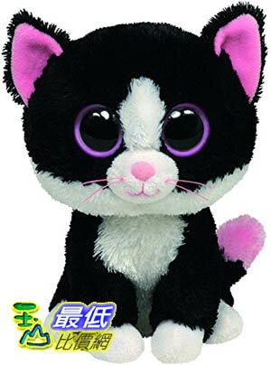 [104美國直購] Ty 毛絨玩具 36038 Ty Beanie Boos - Pepper the Cat 貓咪 玩偶 $459