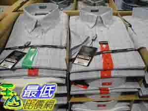 _%[玉山最低比價網] COSCO KIRKLAND SIGNATURE 男短袖 純棉 休閒 免燙襯衫 美國尺寸:S~XL _C678580 $636
