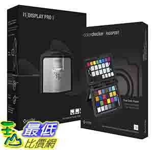 [美國直購] X-Rite EODIS3CCPP i1 Display Pro and ColorChecker Passport Bundle 隨身色彩護照 色卡