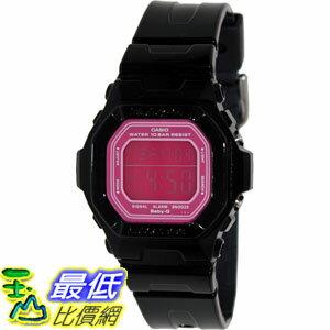 [美國直購 ShopUSA] Casio Women's Baby-G BG5601-1 Black Resin Quartz Watch with Pink Dial
