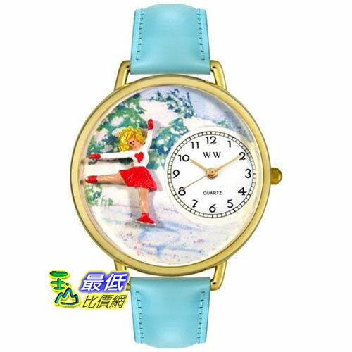 [美國直購 USAShop] Whimsical 手錶 Unisex Ice Skating Gold Watch G0810024 _mr $2087