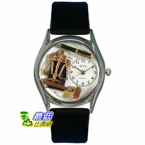 [美國直購 USAShop] Whimsical 手錶 Unisex Legal Silver Watch S0620002 mr $2087