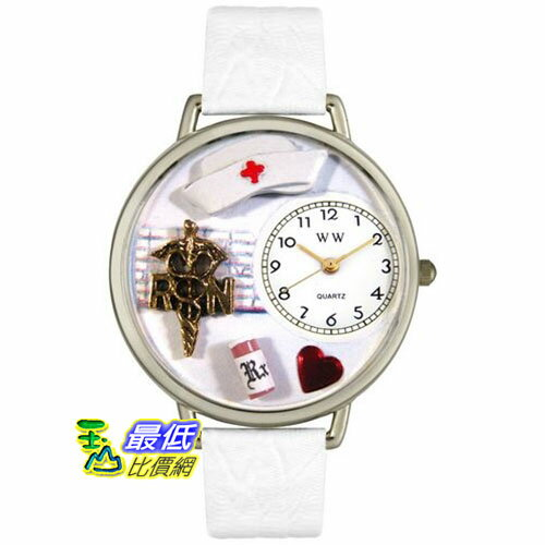 [美國直購 USAShop] Whimsical 手錶 Unisex RN in Silver Watch U0620008 mr $2087