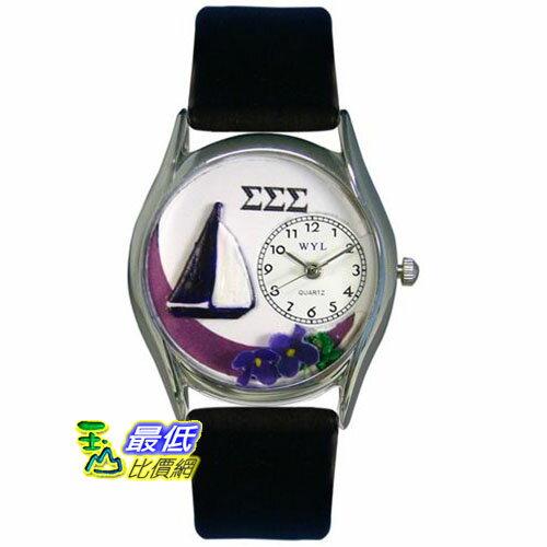 [美國直購 USAShop] Whimsical 手錶 Unisex Sigma Sigma Sigma Silver Watch S1710027 _mr $2087