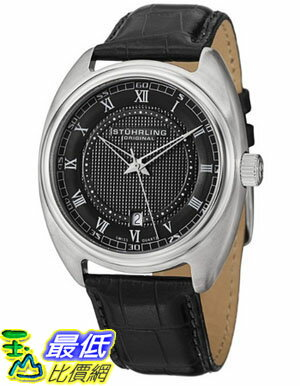 [美國直購 USAShop] Stuhrling 手錶 Original Men's 728.02 Aristocrat Twenty Swiss Quartz Date Black Dial Watch $3727