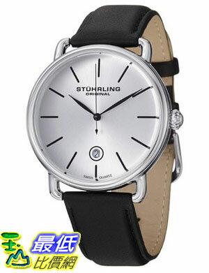 [美國直購 USAShop] Stuhrling 手錶 Original Men's 768.01 Classic Ascot Agent Swiss Quartz Date Silver Dial Watch $3428