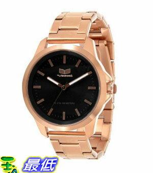[美國直購 USAShop] Vestal 手錶 Unisex HEI3M06 Heirloom Stainless Steel and Black Watch $4105