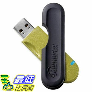 [美國直購 ShopUSA] Memorex 閃存驅動器 Travel Drive CL 16 GB USB 2.0 Flash Drive with MRX Lock 32020019637 (Gr..