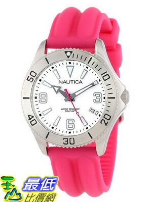 [美國直購 USAShop] Nautica 手錶 Women's N11611M NAC 102 Box Set Classic Analog Enamel Bezel Watch $2719