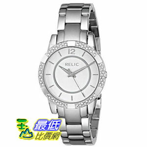 [美國直購] Relic 手錶 by Fossil ZR34201-040 Payton Glitz Silver Tone Stainless Steel Womens Watch $2719